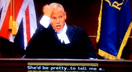 Judge Rinder signs