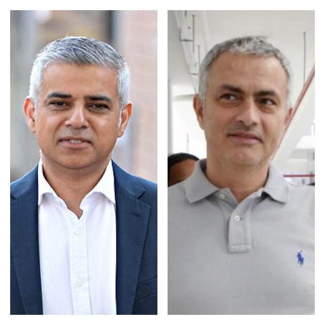 Sadiq Khan & José Mourinho