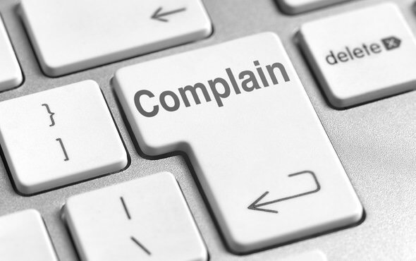 complain button