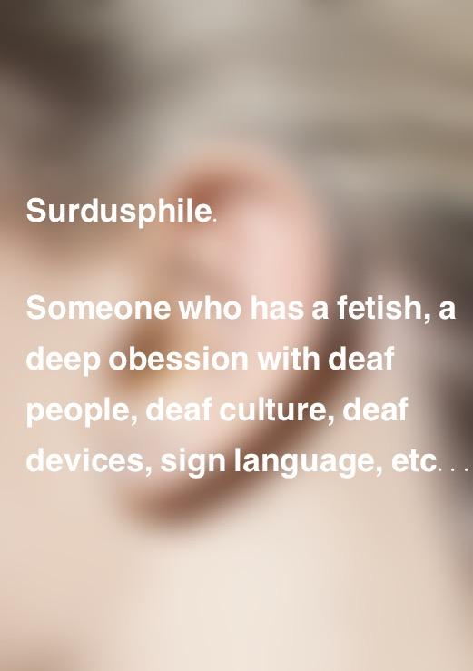 Surdusphile.